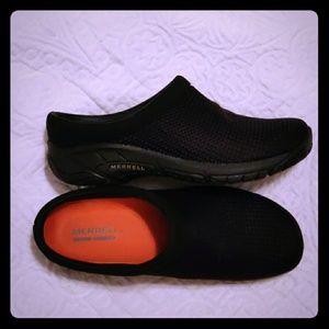 Black Merrell Slip On Shoes
